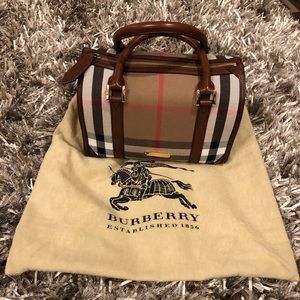 Burberry Satchel Handbag